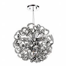 Crystal Beads For Chandelier Medusa 13 Light Chrome Finish Crystal Chandelier