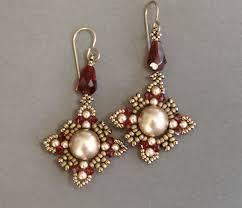 video sidonia u0027s handmade jewelry oriental earrings beading