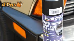 review dupli color bumper coating youtube