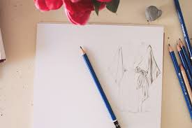 drawing fabric fashion illustration tips