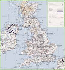 Map Of England And Scotland by Uk Maps Maps Of United Kingdom Of Great Britain And Northern