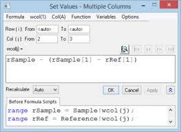 Missing Man Table Script Help Online Tutorials Setting Column Values