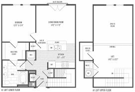 luxury loft floor plans 1 bedroom with loft floor plans pictures story luxury pretentious
