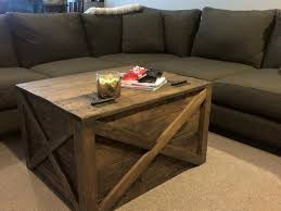 Wooden Pallet Coffee Table Upcycled Wood Pallet Coffee Table Pallet Furniture
