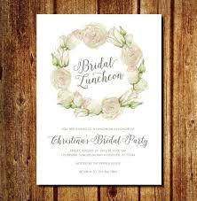 bridesmaid brunch invitation best 25 bridal luncheon invitations ideas on