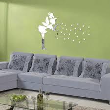3d Home Decor Aliexpress Com Buy Angel Magic Fairy Stars 3d Mirror Wall