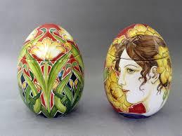 ceramic easter eggs new ceramic easter eggs just out of the kiln la vecchia faenza