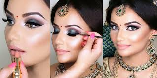 face makeup brushes foundation fancy bridal makeup step by in indian stan apply