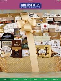 country wine gift baskets wine country gift baskets icatalog on the app store