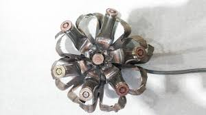 bullet flowers make a metal flower out of bullet casings
