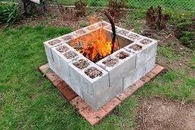 Block Firepit Cinder Block Firepit Fireplaces Firepits Best Block