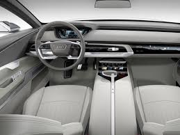 cars ferrari white a pearl white interior of a 2018 audi s6 car car tuning