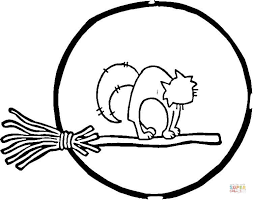 moon cat coloring free printable coloring pages