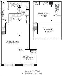 Open Floor Plan With Loft by 100 Open Loft Floor Plans Sea Breeze At Lacey The