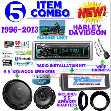 kenwood dealer ipod marine radio harley flht install flhx kit kenwood 6 5