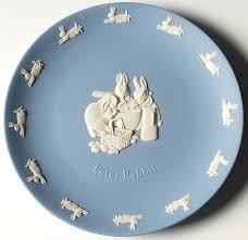 wedgewood rabbit wedgwood rabbit on lavender jasperware at replacements ltd