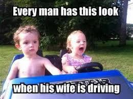 Driving Meme - everyman has this look driving meme