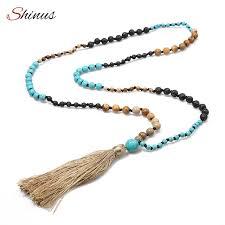 boho stone necklace images Shinus boho necklaces women necklace statement maxi tassel long jpg