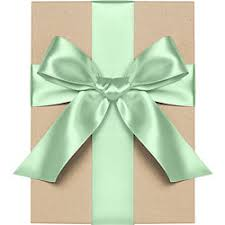 green satin ribbon satin gift ribbon paper source