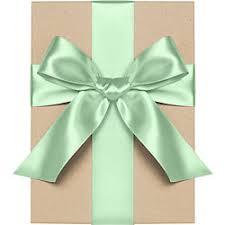 mint green ribbon satin gift ribbon paper source