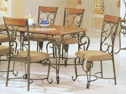 black wrought iron kitchen tables vintage dining table and chairs