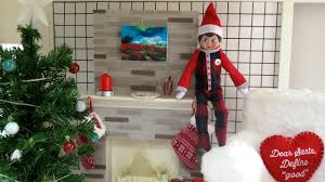 all my american doll christmas decorations and elf