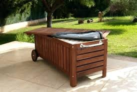Garden Storage Bench Wood Outdoor Wood Storage Bench U2013 Amarillobrewing Co