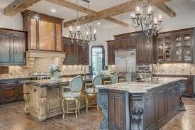 cuisine style ancien et moderne cuisine design blanche et bois