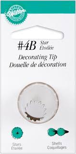 Amazon Wilton Decorating Tip No 4B Star Scrapbooking Tools
