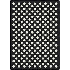 Black And White Polka Dot Valance Milliken Eclipse Nightfall Black White Area Rug U0026 Reviews Wayfair