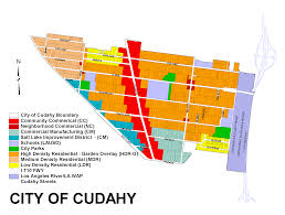 City Of Riverside Zoning Map City Of Cudahy Zoning Map Zoningmaps Org