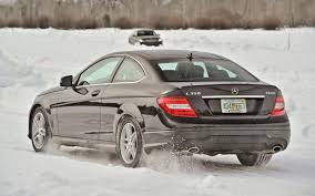 mercedes c350 2013 mercedes 4matic winter experience motor trend