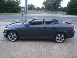 lexus is 350 sale wrecked 2010 lexus is is350 convertible rebuildable for sale