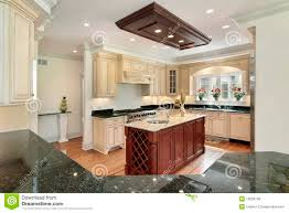 kitchen with center island royalty free stock photos image 13028758
