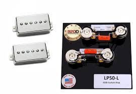 seymour duncan sph 90 phat cat guitar pickup set nickel lp50 l