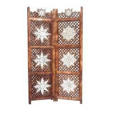 sheesham wood wooden screen partition kashmiri 72x80 4 room dividers manufacturers suppliers of room separators