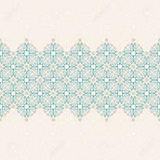 vector islam pattern border seamless pattern arabic ornament
