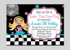 Invitation Cards Size Rock Star Birthday Invitation Rock Star Birthday Party