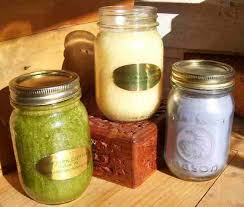 aromatherapy jar candles as healthy gifts