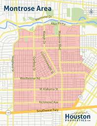 houston map districts map of houston med center angelr me