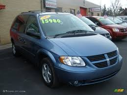 2007 marine blue pearl dodge grand caravan sxt 31426666 photo 9