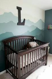 mountain themed woodland nursery for baby boy nursery babyboy