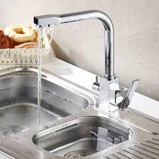 kitchen faucet water filter kitchen sink faucet tri flow washing water mixer tap