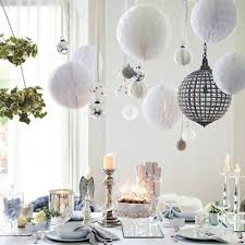 table top decoration ideas colorful christmas tabletop decor ideas white purple and