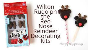 Wilton Cupcake Decorating Kit Mickey Mouse Rudolph Oreo Cookie Pops For Christmas
