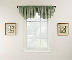 essential home luxury window valance sage home home decor