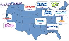 cedar fair parks map cedar fair to implement disney strategies in 2016 theme park