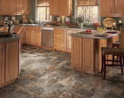 kitchen interesting linoleum kitchen flooring ideas in black and
