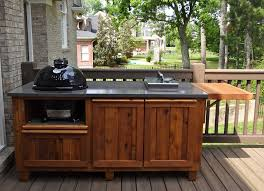 Outdoor Kitchen Cabinet Kits by Cabinets U0026 Drawer Exteriors Mesmerizing Outdoor Kitchen Design