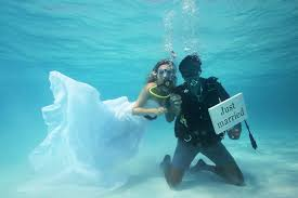 underwater wedding underwater wedding ceremony 2017 thailand cars rentals